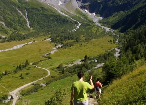 Ballade l'été Saint-Gervais-les-Bains